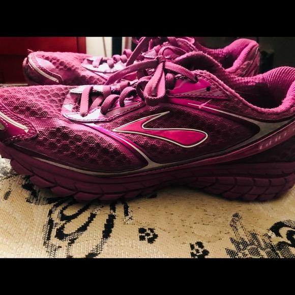 bb246e9e7e083 Brooks Shoes - Brooks Ghost 7 Purple Size  8 1 2 M